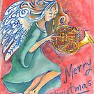 French Horn by Penny Hetherington
