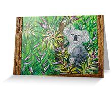 Kool Koala Greeting Card