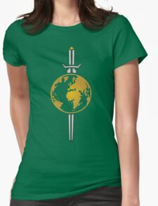 Star Trek Mirror Universe Logo Womens Fitted T-Shirt
