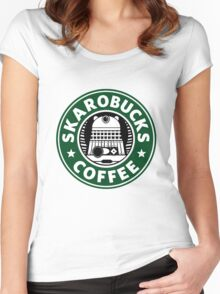 Skaro Coffee Green Women's Fitted Scoop T-Shirt