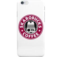 Skaro Coffee red iPhone Case/Skin