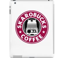 Skaro Coffee red iPad Case/Skin