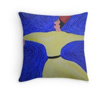 A Whirling Turkish Dervish Throw Pillow