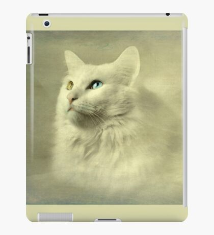 Seeing the world through her eyes iPad Case/Skin