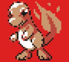 #004 - Charmander Retro 8-Bit by BrianShepherd