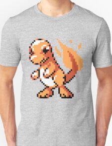 #004 - Charmander Retro 8-Bit T-Shirt