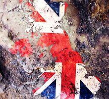 UK Flag Map by Michael Tompsett