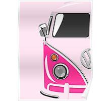 Camper Pink Poster
