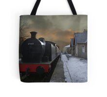 The Steam Train Is In The Station Tote Bag