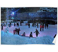 Edinburgh's Ice Rink. Poster