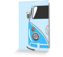 Camper Blue Greeting Card