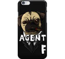 Agent F ( M.I.B ) iPhone Case/Skin