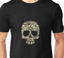 Skull and Roses (abel in all colors) Unisex T-Shirt
