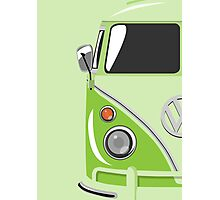 Camper Green Photographic Print