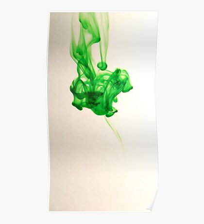 Greenish Poster