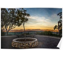 Oxley Lookout Tamworth Australia Poster