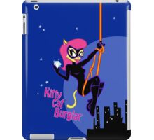 Kittycat Burglar iPad Case/Skin