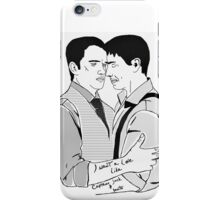 Torchwood's most splendid couple.. iPhone Case/Skin