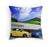 Fiat of bham Throw Pillow