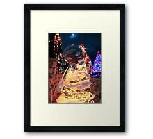 The Santa Tree Framed Print