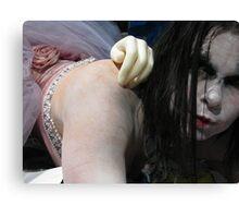 Goth doll Canvas Print