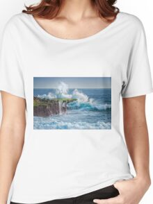 Exploding Surf Women's Relaxed Fit T-Shirt