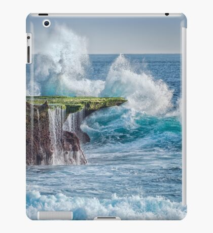 Exploding Surf iPad Case/Skin