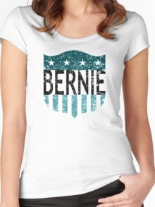 BERNIE sanders stars and stripes Women's Fitted Scoop T-Shirt