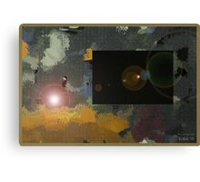 Winter Solstice Eclipse Canvas Print