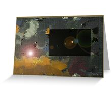 Winter Solstice Eclipse Greeting Card