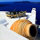 Santorini pot by adouglas