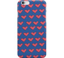 Hearts Pattern iPhone Case/Skin