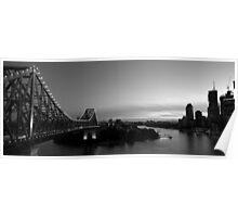 Brisbane Story Bridge Poster