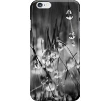 Dew Drop Dreams B&W  iPhone Case/Skin