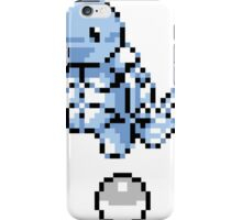 Squirtle With Pokeball Retro 8-Bit iPhone Case/Skin