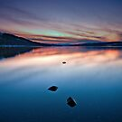 Last light at Loch Rannoch by Phillip Dove