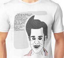 Ace Ventura, Star Trek lovin' pet detective. Unisex T-Shirt
