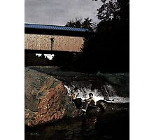 Swiftwater Moment Photographic Print
