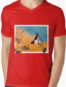 War Boy Polecat Mens V-Neck T-Shirt
