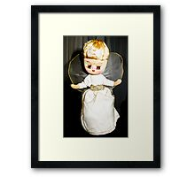 Fairy, Fairy 50 years old, still on a christmas tree! Framed Print