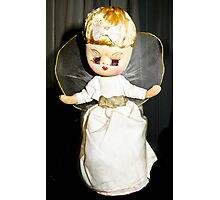 Fairy, Fairy 50 years old, still on a christmas tree! Photographic Print