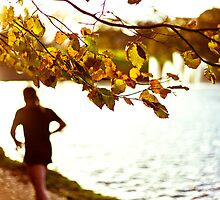Autumnal Jog in the Park by redbublesnapper