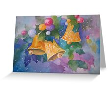 Christmas Bells after a Christmas Card Greeting Card