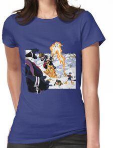 Chrono Hearts  Womens Fitted T-Shirt