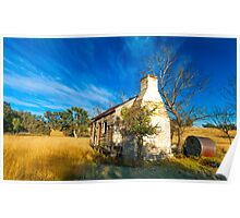Abandoned House, Liston, NSW Poster