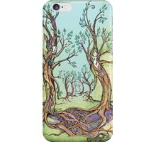 Dancing Forest iPhone Case/Skin