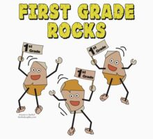First Grade Rocks by BartholGraphics