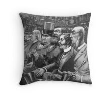 Displace the Pole Throw Pillow