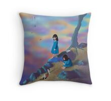 Alice's Ambivalence - Square Image Throw Pillow