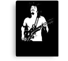 Carlos Santana Band T-Shirt Canvas Print